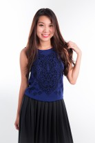 Gyneath Jacquard Top