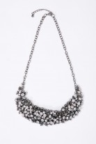 ZORA Bejewelled Statement Necklace