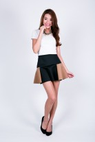 Hollie Colour Block Skirt