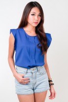 Jayla Flutter Sleeve Top